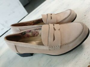 Ladies Hotter Comfort Shoes Moccassin Size 4