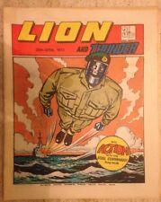 LION AND THUNDER UK COMIC. 28th April 1973. FREE UK POSTAGE.