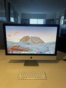 Apple iMac 27in Retina 5K 2019 2TB Fusion Drive Intel 6-Core i5 3.7GHz 8GB RAM