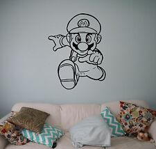 Super Mario Video Game Wall Vinyl Decal Vinyl Stickers Superhero Home Interior 8