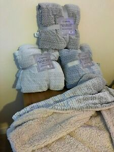 Sherpa throw blankets,soft and warm,single and double size,different patterns.