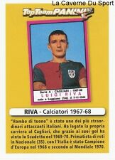 RIVA ITALIA CAGLIARI CALCIO RARE UPDATE STICKER CALCIATORI 2011 PANINI TOP TEAM