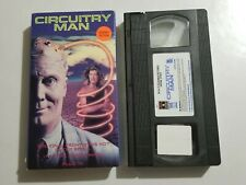 CIRCUITRY MAN VHS TAPE JIM MELTZER DANA WHEELER 1991 RCA/COLUMBIA PICTURES