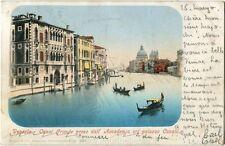 1953 Venezia - Canal Grande preso dall'Accademia col Palazzo Cavalli - FP COL VG