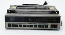 Vintage GE General Electric 7-4220B Under Counter Clock Radio w Mounting Bracket