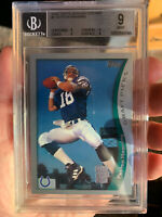 PEYTON MANNING 1998 TOPPS SEASON OPENER ROOKIE CARD BGS 9 MINT HALL OF FAME RC!