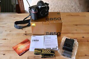 Nikon D850 45.7MP Digital Camera LOW SHUTTER COUNT