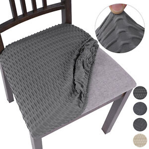 Removable Stretch Dining Chair Seat Covers Seat Cushion Slipcovers Protector G7