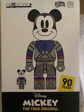 Medicom BBC Disney 90th Anniversary Mickey Complexcon Only Bearbrick 100/400 Set