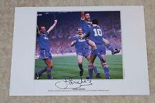 Lawrie Sanchez Wimbledon Hand Signed Autograph A3 Photo Print Memorabilia + COA