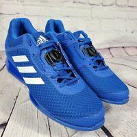 Adidas Men's Size 11.5 Blue Leistung 16 II BOA Weightlifting Shoes BD7160