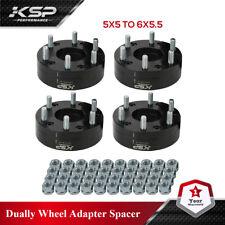 """4 un. 2"""" adaptadores 5x5 a 6x5.5 Hubcentric rueda Chevy 5 Lug Adaptador 6 ruedas del estirón"""