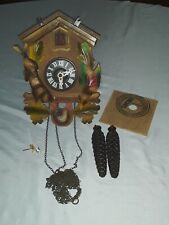 New ListingVintage Albert Schwab Karlsruhe W Germany Hunter Cuckoo Clock