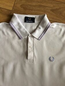 "Fred Perry Mens Polo Shirt .. Size 46"" XL .. Xtra Large .. Lilic"