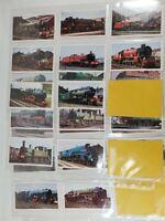 Doncella Golden Age of Steam 24 Card Set Tobacco Cigarette Trains Railroad