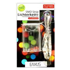 Batterie Lichtleiste bunt 30 SMD | Lichterkette | LED Streifen Band Strips Kette