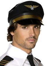 Aerolínea PILOTO Sombrero Hombre Despedida De Soltero Novedad Accesorio disfraz