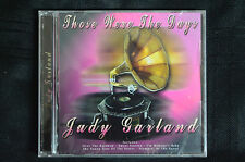 Judy Garland - Those were the Days  CD New and sealed (B30)