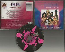 SOCA BOYS Gang 5TRX w/ EDIT & REMIXES &EXTENDED LIMITED CD single Van B. King
