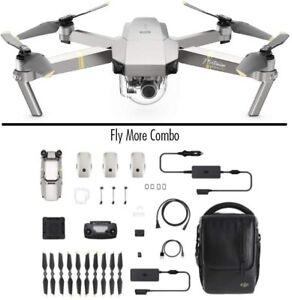 DJI Mavic Pro Platinum Fly More Combo - Dron Quadricóptero, Nivel de Ruido 4 dB,
