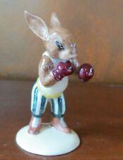 New ListingRoyal Doulton Knockout Bunnykins Boxing Rabbit Figurine