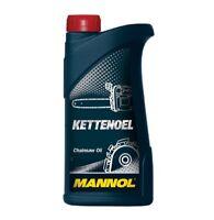 1 Liter MANNOL mineralisches Kettenöl / Kettenhaftöl für Motorsäge