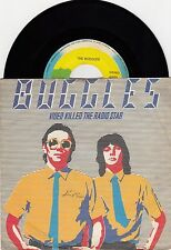 "BUGGLES VIDEO KILLED THE RADIO STAR 1979 VINYL RECORD YUGOSLAVIA 7"" PS"