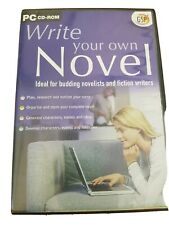 Write Your Own Novel - PC, for budding writers