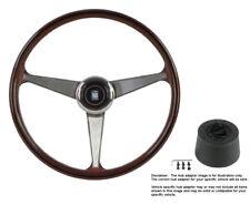 Nardi Steering Wheel Anni 60 - 380 mm Wood with Hub for Pontiac GTO 1964 - 1966