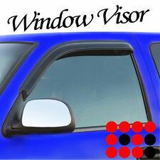 96-10 CHEVY EXPRESS/GMC SAVANA SIDE WINDOW VISOR SHADE RAIN GUARD DEFLECTOR 2PCS