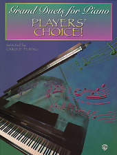 """""""Player'S Choice!-Grand Duets For Piano"""" Music Book-Brand New On Sale-Songbook!"""