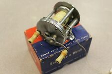 Vintage Shakespeare True Blue 1956 Fishing Reel  With Box And Papers