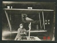 WW1 GERMAN AIRCRAFT REPAIR/ARMY MECHANIC REAL/ORIGINAL PHOTO APPX 4X3