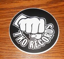 "TKO Records Sticker Circle Decal Promo 3.5"" (punch)"