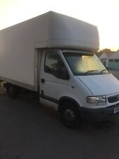 vauxhall movano mwb luton van with tail lift