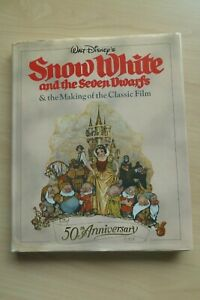 Snow White & The Seven Dwarfs & The Making of the Classic Film HC 1st Ed. 1987