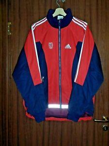 NORWAY OLYMPIC TEAM GAMES 2000 SYDNEY TRACK SUIT JACKET Sweatshirt size L ADIDAS