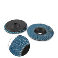 75mm Abrasive Polishing Grinding Wheel Sanding Flap Disc For Grit Angle Grinder