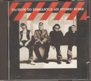 U2 How to Dismantle an Atomic Bomb CD & DVD 2004