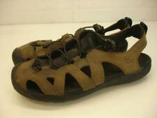 Men's 10 M Keen KANYONLANDS CASCADE Brown Leather Sandals Fisherman Waterproof