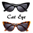 New Hot Women's Classic Cat Eye Designer Fashion Shades Black Frame Sunglasses