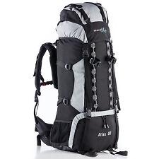 Skandika - Atlas 90 Sac À dos Trekking Randonnée Marche Noir/gris