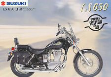 SUZUKI LS 650 Pathfinder prospectus 11/98 1998 Brochure Brochure moto prospekt