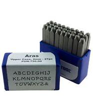 Aras Upper Case Letter Punch Set 2mm 27pcs Eurotool