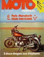MOTO JOURNAL  100 KAWASAKI Z 900 Z1 Z900 Aermacchi Harley Davidson 350 SX 1973