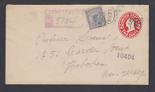 US Sc F1 on 1913 Registered Envelope to Hoboken, New Jersey