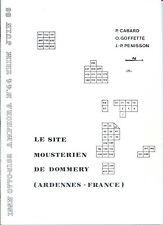 AMPHORA N°44 - Le Site Moustérien de Dommery - Ardennes