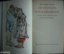 Lasker-Schüler: Dichtungen und Dokumente; 1.Werkausgabe