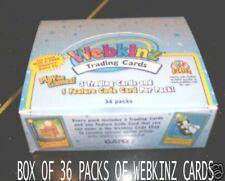 UNOPENED BOX OF 36 PACKS OF WEBKINZ TRADING CARDS