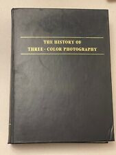 The History of Three Colour Photography, Hardback Book, 1970